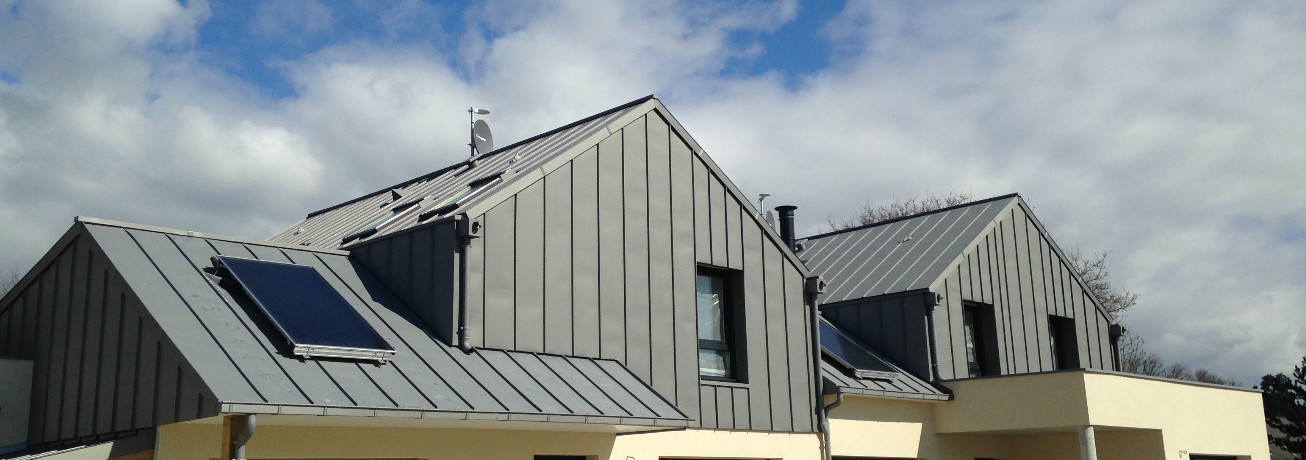 Zinc roofing traditional systems : standing seam, flat lock