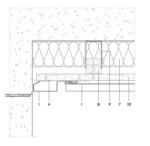 Fassadenanschluss mit Profilblech