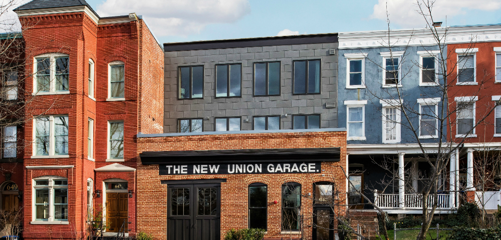 The New Union Garage elZinc Slate