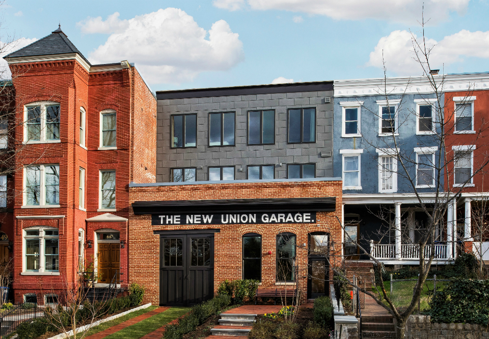 The New Union Garage elZinc Slate