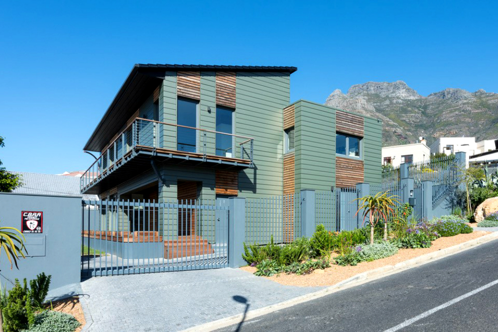 Cape town elzinc rainbow green