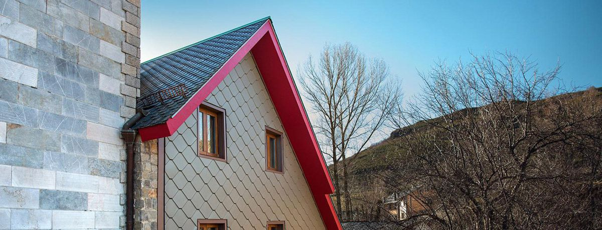 elZinc tiles for roofing and cladding